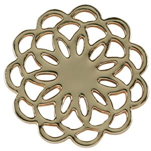 Picture of Large Gold Flower Screen